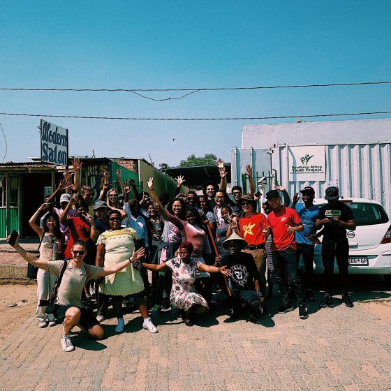 Snapshot from Diepsloot tour